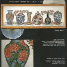 * Vase Row Cross Stitch Kit -1 pattern 1994 Design Works
