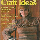 Decorating Craft Ideas - 1982 - Art Deco Needlepoint - Wreath Making - Knitting