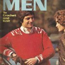 Sweaters for Men to Crochet and Knit - Vintage - 1972