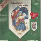 SILENT NIGHT ~ HOLY NIGHT ... Banner Cross Stitch Kit
