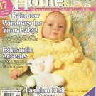 Crochet Home Magazine #49 - Baby Bunting - Paris Nights Afghan - Stemware Coaster