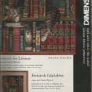 *Cat Cross Stitch Kit ~ FREDERICK THE LITERATE   Dimensions 2001