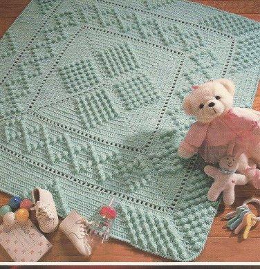 *Annie's Crochet Quilt & Afghan Club - Antique Popcorn