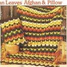 Annie's Crochet Man's Sweater, Afghan, Baby Bonnet, Placemat PLUS