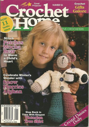 Crochet Home #56 - X-mas Stocking & Skirt, Patchwork Bear