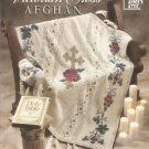 Annie's Attic Crochet Victorian Cross Afghan Pattern