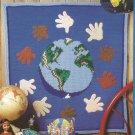 World Friendship Afghan - Forest of Ice - 1997 Afghan Calendar