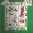 * GOLFER Cross Stitch Kit -1 pattern 2002 Candamar