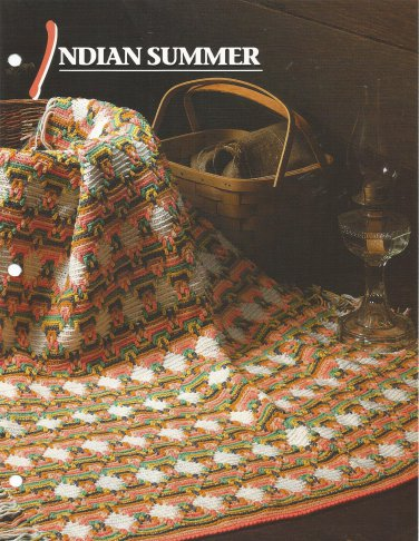 *Annie's Crochet Quilt & Afghan Club - Indian Summer