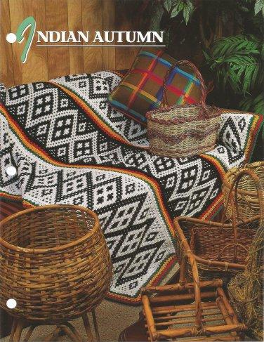 Annie's Crochet Quilt & Afghan Club - Indian Autumn