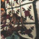 Annie's Attic Year-Round Afghan Bouquets