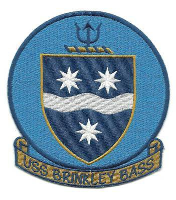 US Navy, DD-887, USS Brinkley Class Destroyer Patch