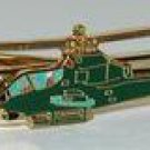 US Army AH-1G Cobra Helicopter Tie Clip