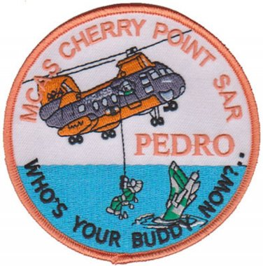 USMC MCAS Cherry Point Marine Corps Air Station Search & Rescue Patch