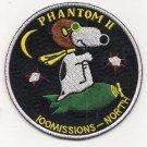F-4 Phantom II 100 Missions North Vietnam War Patch