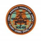 USMC HH-46 First Flight USMC RET Final Flight Phrogs Phorever Patch