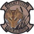 USMC HHS MCAS Beaufort Swamp Foxes Patch