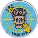 USMC VMSB 233 Marine Scout-Bomber Squadron Patch