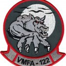 USMC VMFA 122 Marine Fighter Attack Squadron Patch