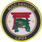 USMC USS Denver LPD 9 Patch