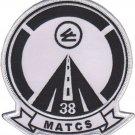 USMC MATCS 38 Marine Air Traffic Control Squadron Patch