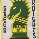 USMC VMA(AW) 121 Green Knights Patch