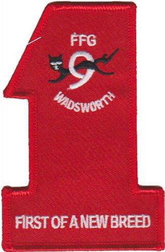 USMC USS Wadsworth FFG Patch