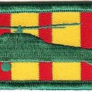 USMC UH-34 Vietnam Ribbon Helicopter Patch