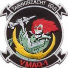 USMC VMAQ-1 Tactical Electronic Warfare Squadron Patch