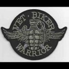 Veteran Biker Warrior Patch