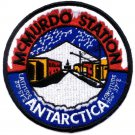 US Navy NAS McMURDO ANTARCTICA Naval Air Station Ski Club Ice Shelf Patch