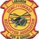 USMC Combat Helicopter Association Lebanon Patch