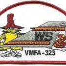 USMC VMFA-323 Fixed wing Marine Fighter Attack Squadron 323 Death Rattlers Patch