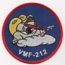 USMC VMF-212 Marine Fighter Attack Squadron 212 War II Style Patch