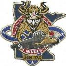 US Navy SSN-783 USS Minnesota Submarine Patch