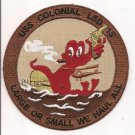 US Navy LSD-18 USS Colonial Dock Landing Ship Patch