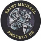 USMC St Michael Protect Us Patch