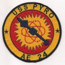 US Navy AE-24 USS Pyro Ammunition Ship Patch