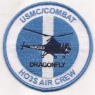 USMC Combat Dragonfly Helicopter HO3S Air Crew Patch