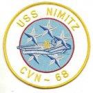 US Navy CVN-68 USS Nimitz Patch