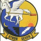 US Navy UTRON-Seven Utility Squadron-7 Hard to Find Patch