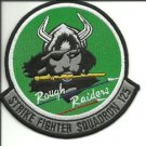US Navy VFA-125 Strike Fighter Squadron Military Insignia ROUGH RAIDERS Patch