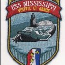 US Navy SSN 782 - USS Mississippi Class Attack Submarine nuclear powered Patch
