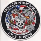 US Navy Transition Time Baby Jolly Rogers Patch