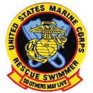 USMC Rescue Swimmer SO OTHERS MAY LIVE COLOR Patch