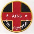 US Navy AH-6 USS Comfort Hospital Ship Patch