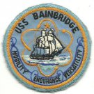 US Navy USS Bainbridge (DDG 96) Vintage Patch