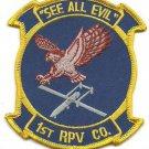 USMC RQ-2A Pioneer 1st RPV Company, VMU-1 Watchdogs Patch