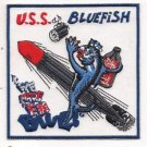 US Navy SSN-675 USS Bluefish Submarine Patch