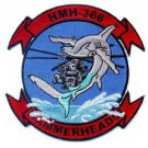 USMC HMH-366 Marine Corps Heavy Helicopter Squadron Patch